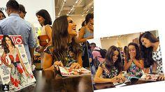 Look do dia: Vestido midi floral    por Camila Coelho |  Supervaidosa       - http://modatrade.com.br/look-do-dia-vestido-midi-floral