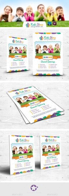 Childcare Nursery Flyer Childcare, Flyer template and Nursery - birthday flyers template