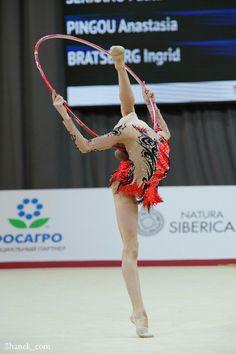 Anastasia Salos (Belarus), junior, Grand Prix (Moscow) 2018