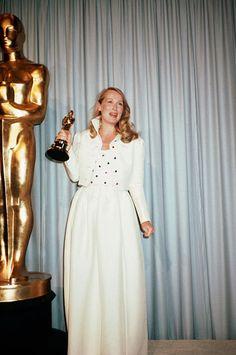 """Meryl Streep wins Best Supporting Actress for """"Kramer vs. Kramer""""."""