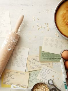 Reminds me of my Mum's, her mum's, and her grandmother's recipe cards and books. Baking / Image via: Seth Smoot Old Recipes, Vintage Recipes, Family Recipes, Jelly Recipes, Food Photography Styling, Food Styling, Tips & Tricks, Recipe Cards, Food And Drink