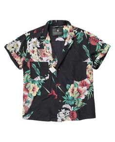 Surprisingly chic Hawaiian print shirt by Maison Scotch. Now I just need a plane ticket to Maui.