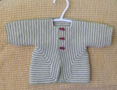 Elizabeth Zimmermann's Baby Surprise Jacket