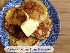 Perfect Coconut Flour Pancakes
