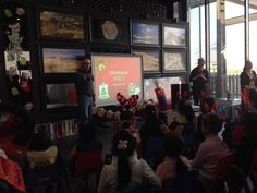 Another picture of me teaching the meaning of Christmas to Chinese students 3 to 6 years old and their parents.