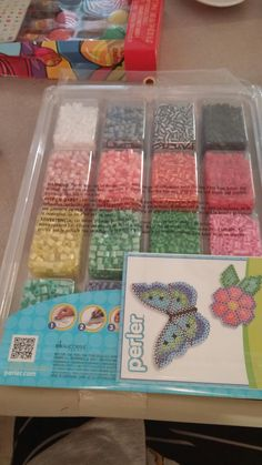 My Perler Beads Set With 16 Different Colors That My Mom Got For Me For My Birthday Today!😄😊☺😉😍😘❤💜💙💚💛💗💘💞💖💕💓💌💋💎💍👣💝🎍🎂🍰🎋🎉🎊🎈🎁💝🎍