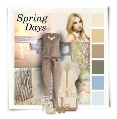 """""""Spring Days"""" by diva1023 ❤ liked on Polyvore featuring TOUS, Denim & Supply by Ralph Lauren, GUESS, Michael Kors, Lucky Brand and A Peace Treaty"""
