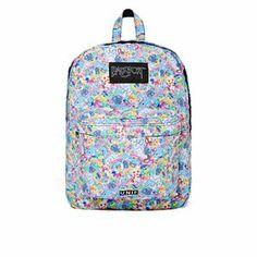 #backpack #floral #accessories #summer http://minipopup.com/curators/amanda.marzolini/