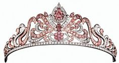 for days when you really feel like a princess, try on this pink diamond tiara