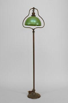 American Mission lighting floor lamp/torch�re bronze