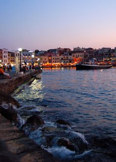 thisismygreece:  This is my Greece | The Venetian Harbor in Chania on the island of Crete