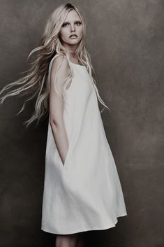 minimal white | Fashion + Photography | Lida Baday Spring 2012 |