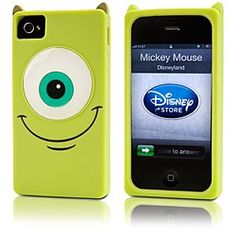 Disney Mike Wazowski iPhone 4/4S Case - Monsters, Inc. | Disney StoreMike Wazowski iPhone 4/4S Case - Monsters, Inc. - Phone-in the fun using Mike Wazowski's iPhone 4/4S Case, a bright neon green cover with sculptured features. Mike helps you protect your precious electronic equipment so you can save the screams for later!
