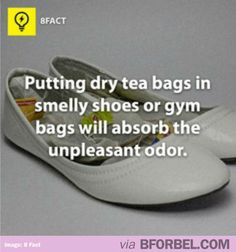 Getting Rid Of Smelly Shoes And Gym Bags…