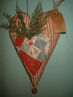 cozy quilt heart