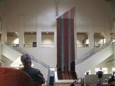 Merle Sykora's Sun/Rain is installed in SCSU's Miller Center library | Flickr - Photo Sharing!
