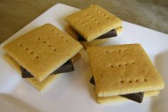 Grain Free Honey Graham Crackers