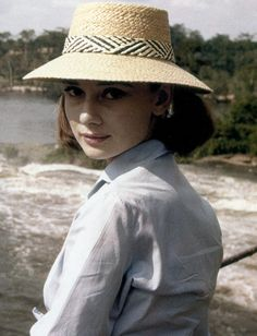 """aladyloves: """" Audrey Hepburn photographed by Leo Fuchs during the filming of The Nun's Story (1959) """""""
