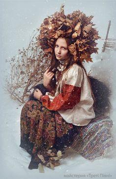 Заснеженная украинская красота