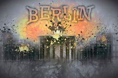 """Digital-Art Brandenburg Gate I"" at SAATCHI ART. more Shops: http://www.melanieviola-fotodesign.de/"