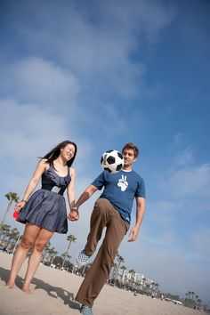 Open this link, I like the first image of her holding the ball with a focus on her ring
