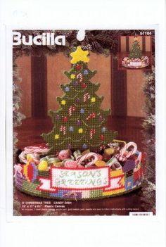 O CHRISTMAS TREE CANDY DISH 1