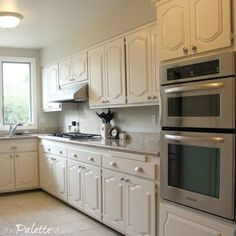 the hottest new way to update your kitchen cabinets is here - Best Way To Paint Cabinets