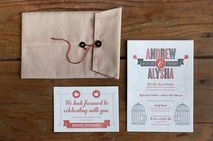 Cute and sweet wedding design package. #weddingmonth #typography