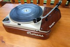 THORENS TD 124 High End Turntables, Audiophile, Diy And Crafts, Technology, Products, Tech, Tecnologia, Gadget