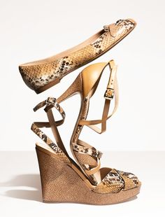 Longchamp - Souliers Patch Exotic - SS 2013 Collection