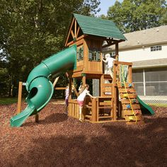 Backyard Playground and Swing Sets Ideas: Backyard Play Sets For Your Kids   DesignRulz.com