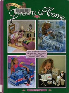 Free Barbie Plastic Canvas Dream Home Pattern Book