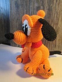 вязаный щенок Плуто (описание) - Вязание - Страна Мам
