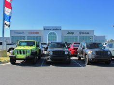 Jeep inventory at Steve Landers Chrysler Dodge Jeep Ram in Little Rock, AR.