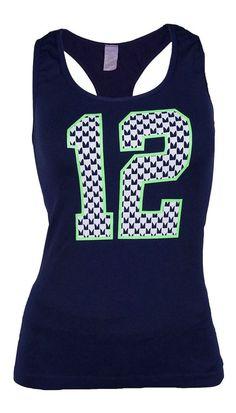 d4eeb7d9c Seattle Seahawks 12TH Man Women s One Size Tank Top. Seahawks MemesSeahawks  GearSeahawks FansSeahawks ...