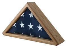 Cedar Flag Display Case by flagsconnections on Etsy