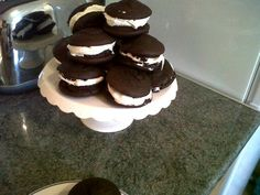 Chocolate Whoopie Pies with Homemade Marshmallow filling