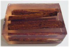Melt & Pour - Whole Cinnamon Stick Bar Soap recipe