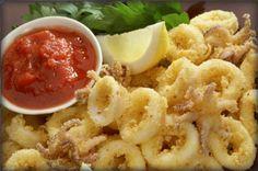 Crispy calamari - easy & the perfect Happy Vines Sauvignon Blanc pairing