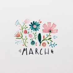 "Instagram: ""Hooray for March"""