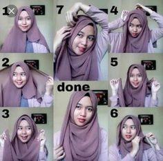 Hijab Tutorial, Simple, Dan, Hijab Dress, Hijab Outfit