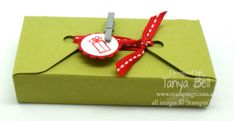 Gift Box Punch Board – More than square boxes! With video