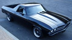 Chevrolet El Camino - I really wanted my parents to buy one of these when I was a kid.