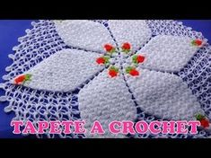 Cuadrado Flor a crochet con hojitas PASO A PASO EN VIDEO TUTORIAL - YouTube