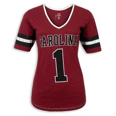 South Carolina Gamecocks Under Armour Ladies Legacy Performance T-Shirt #gamecocks