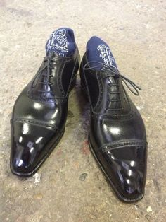 The Shoe AristoCat: Bestetti's Balmoral (galosh) Oxfords
