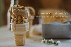 { Dona da Casa! } helado de dulce de leche #icecream #caramel #homemade #diy http://tmblr.co/Zk4jHs1PJ3CZJ