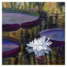 Ripples and Sunlight - Paintings by John Lautermilch