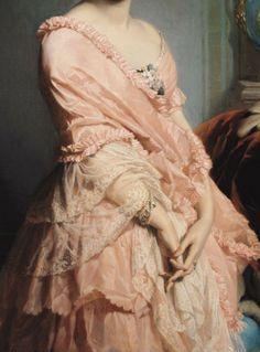 Edouard Louis Dubufe (1820 – 1883), Karoly II Marko,detail.