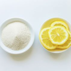 DIY Lemon Sugar Scrub. Perfect for spring and summer. Leaves your skin flawless and rosy. -1.Begin with a clean face. 2.Soak the cotton round in lemon juice. 3.Sprinkle sugar on top of the lemony soaked cotton round. 4.Scrub around your face for 3-5 min. 5.Rinse with cool water.